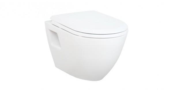 Toilet Met Sproeier : Creavit tp wandcloset met rvs bidet sproeier