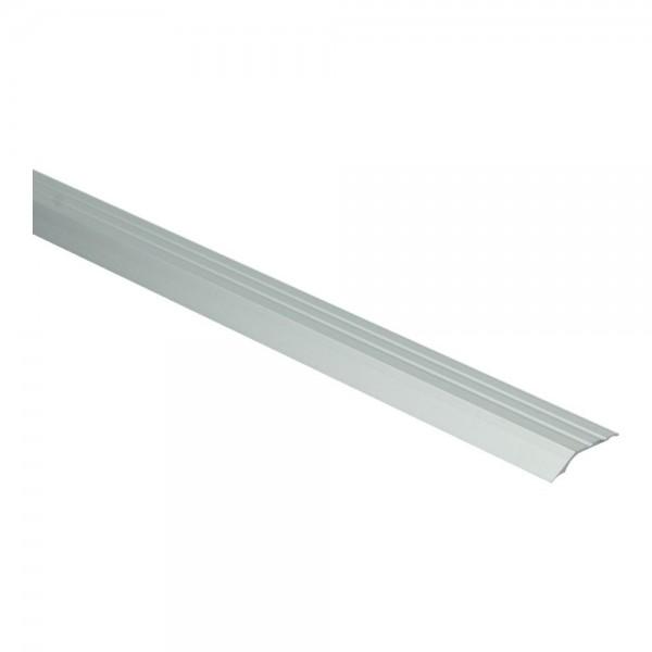 Overgangsprof. zelfkl. 5 mm alu zilver 2,7 meter per stuk