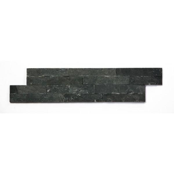 GRANDEUR TEGELSTRIP / BRICKSTONE ZWART MAT 0,4 M2 P. DOOS